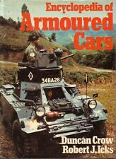 Book - Encyclopedia of Armoured Cars & Half Tracks - Crow Icks - Military WWII
