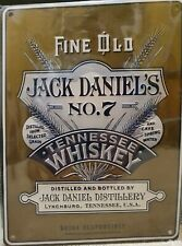OFFICIAL JACK DANIELS LEGACY 3 TIN SIGN UK RELEASED COLLECTORS ITEM