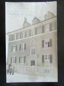 Postkarte Ansichtskarte München Haus mit Bewohner 1926