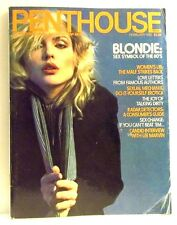 VINTAGE PENTHOUSE MAGAZINE FEBRUARY 1980 BLONDIE: SEX SYMBOL OF THE 80'S