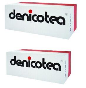 2 x Denicotea Zigarettenspitze Filter 50 Stk. Packung (kurz) / 100 Filter