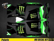 Kit Déco Quad pour / Atv Decal Kit for Polaris Scrambler - Monster