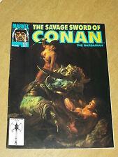 CONAN SAVAGE SWORD OF #175 JULY 1990 BRITISH MONTHLY MAGAZINE^