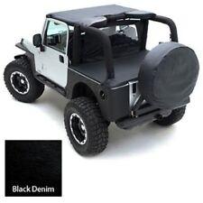 "Smittybilt 773515 Spare Tire Cover Large Tire (33"" 35"") Black Denim"