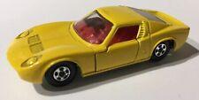 Phantom Matchbox Lesney #33 Yellow Lamborghini With Superfast Wheels.