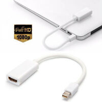 ThunderBolt Mini Display Port DP to HDMI Adapter Cable For Macbook Pro Air iMac