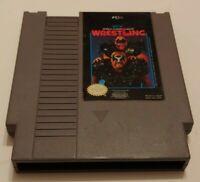 WCW World Championship Wrestling NES Nintendo Game  Works Authentic Original