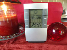 ALARM CLOCK LOVELY GIFT LCD WEATHER STATION TEMPERATURE FREE POST AUSSIE