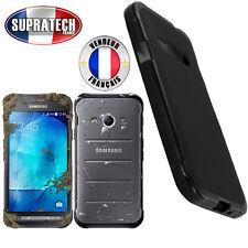 Coque Housse Silicone Noir Souple pour Samsung Galaxy Xcover 3 G388F