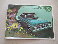 1967 Ford Falcon advertising booklet
