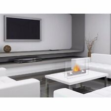 Designer's All Season Table Top Ethanol Fireplace, Both Indoor and Outdoor Use