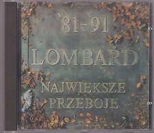 LOMBARD 81-91 NAJWIEKSZE PRZEBOJE 1991 INTERSONUS CD OSTROWSKA LESSDRESS KLAATU