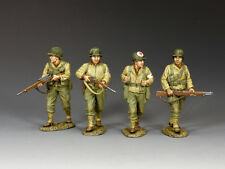 "KING & COUNTRY DD306 WWII ""U.S. 2nd RANGERS... SEARCHING FOR PVT. RYAN""  SET #2"