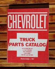 Vintage Chevrolet Truck Parts Catalog 1967 EUC!