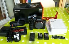 MINT Sony Alpha A7R II 42MP Mirrorless Digital Camera + extras ONLY 103 SHOTS!