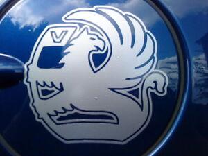 Vauxhall corsa astra petrol cap fuel tank vinyl car sticker decal graphics side