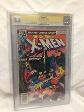 X-Men #115 CGC 8.5 (1978) SIGNED BY CHRIS CLAREMONT 1st App of Zaladane