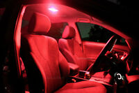 Bright Red LED Interior Light Kit for Toyota Hilux 1997-2005 Double Dual Cab
