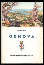 COZZANI ETTORE GENOVA SEI 1961 LOCALE LIGURIA