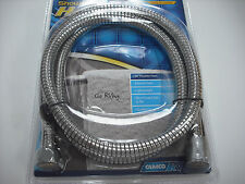 "RV - Motorhome Flexible Shower Hose - Chrome Color -  Standard  60"" Length"