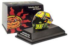 Minichamps Valentino Rossi AGV Helmet MotoGP Qatar 2014 - 1/8 Scale