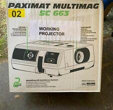 Braun Paximat Multimag SC 663 Slide Projector