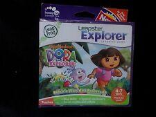 NEW Leapfrog Leapster Explorer DORA EXPLORER Game case Leap Pad 2,3,GS,XDi Ultr