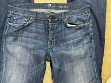 7 for all Mankind Standard Straight leg Denim Men's Size 36 x 32