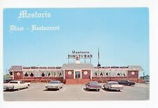 Mastoris Diner-Restaurant BORDENTOWN NJ—Vintage Chrome PC 1960s