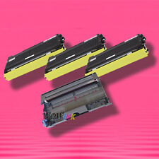 4P TONER+DRUM for Brother TN-350 TN350 DR-350 DR350 IntelliFax 2820 2910 2920