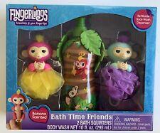 Fingerlinks Body Wash Sets - Kids Bath Tub Fun New