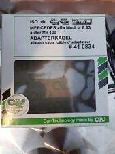 Mercedes Radioadapterkabel ISO W124 E Klasse W201 190 S W126 R129 W124