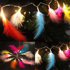 1.2m M 10led pluma cuerda Luz Para Navidad Fiesta De Decoración Lámpara
