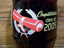 CLASS  OF  2005,  Congratulations  1 - 8 Oz Coke Bottle