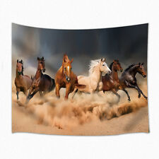 Six horses run Tapestry Wall Hanging for Living Room Bedroom Dorm Decor