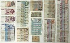 ITALY ITALIAN LIRE BANKNOTES CHOICE OF NOTE AND CHOICE OF STYLE