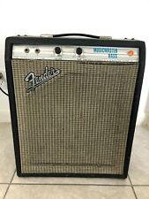 Década de 1970 Fender Musicmaster Amplificador De Bajo Vintage Con Celestion G12