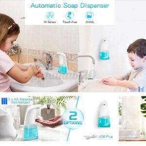 Touchless Automatic Soap Dispenser IR Sensor Liquid Soap Hand Wash Dispenser UK