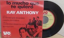 """RAY ANTHONY LO MUCHO QUE TE QUIERO 7"""" EP PICTURE SLEEVE INSTRUMENTAL"""