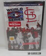 2006 WORLD SERIES DVD St Louis Cardinals SEALED! vs Detroit Tigers BASEBALL MLB
