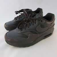 Nike Air Max 1 Reflective Women's Running Shoes 917691-001 Size 6.5 Purple Black