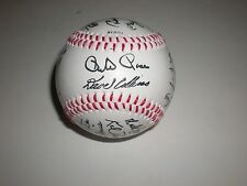 1988 MLB Team Cincinnati Reds Souvenir Facsimile 26 Stamped Autographed Baseball
