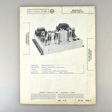 Magnavox Chassis AMP-149 Audio Amplifier SAMS Photofact Service Manual 341-8