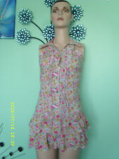 Fitted Floral Petite Sleeveless Tops & Shirts for Women