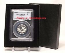 1 AIR-TITE Direct Fit PCGS Coin Slab Holder Storage Gift Box + Insert Display