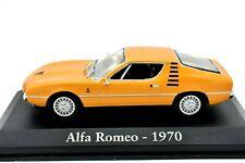 MODELLINO AUTO ALFA ROMEO MONTREAL SCALA 1/43 DIECAST IXO COLLEZIONE modellismo