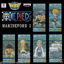 ONE PIECE WCF World Collectable Figure MARINEFORD 1 Complete set