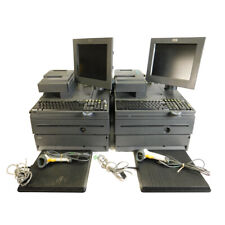2 Ibm 4800 J22 Pos System 700 Series Retail Cash Registers With Scanner And Pads