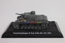 New 1/72 Diecast Tank German Panzer III Ausf.G 1941 Military Model Toy Soldiers