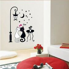 Cute Car Couple Wall Sticker Decal Kids Adult Room Decoration